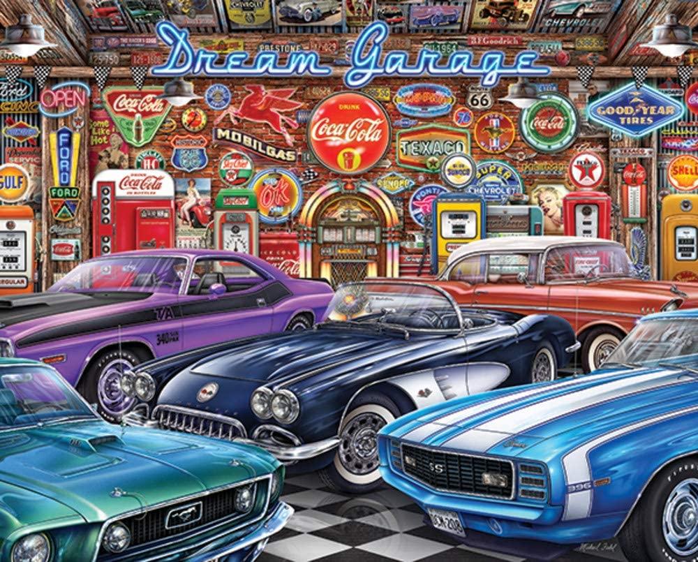 Dream Garage Puzzle 1000 piece