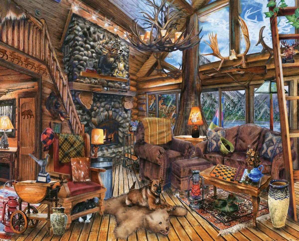 Hunting Lodge Puzzle 1000 piece