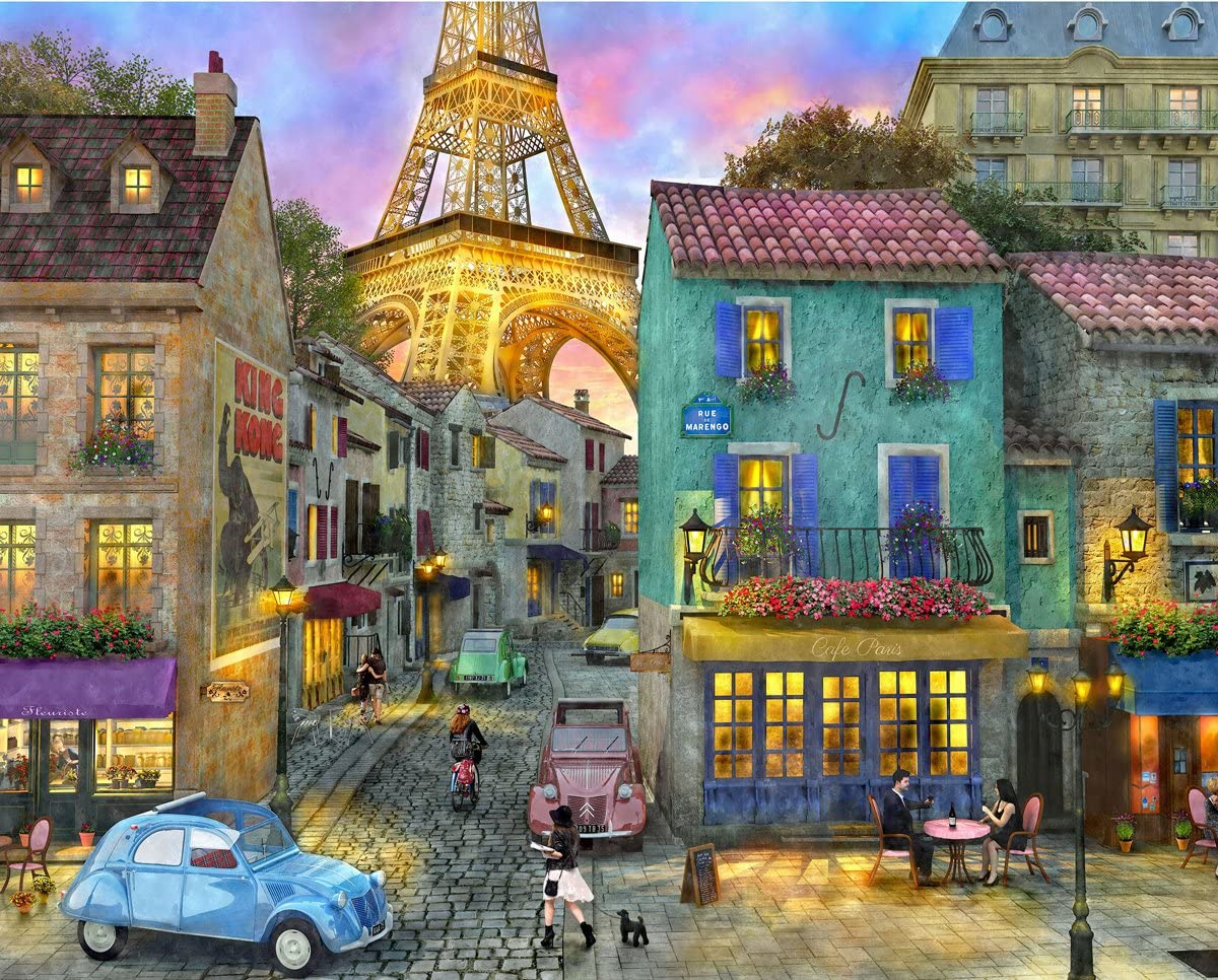 Eiffel Magic Puzzle 1000 piece