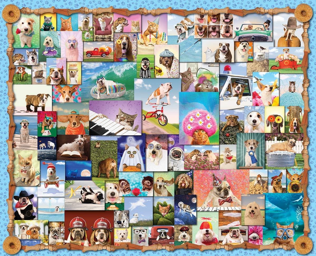 Animal Quackers Puzzle 1000 piece