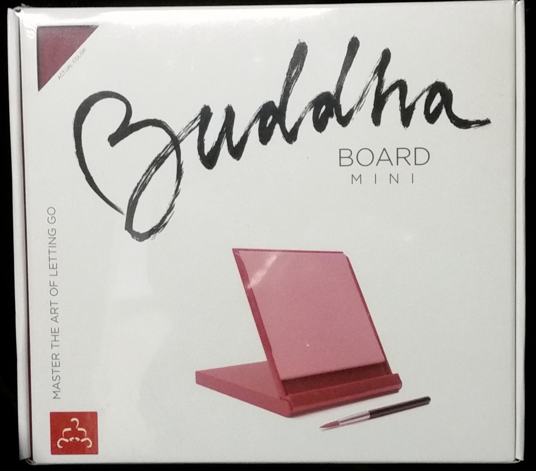 "Mini Buddha Board Red 5"" by 5"""