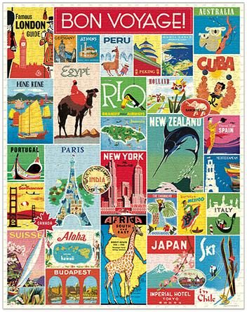 Travel Vintage Puzzle image 2
