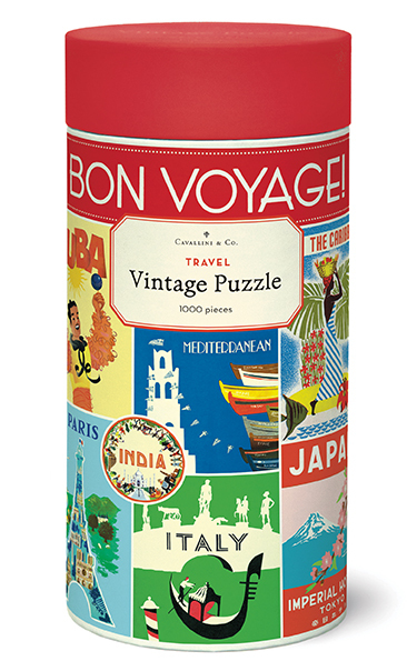 Travel Vintage Puzzle