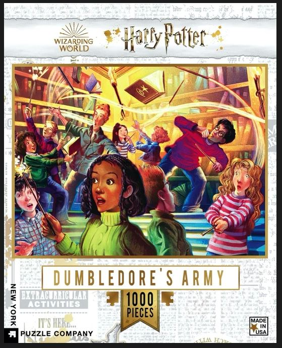 Harry Potter Dumbledore's Army Puzzle