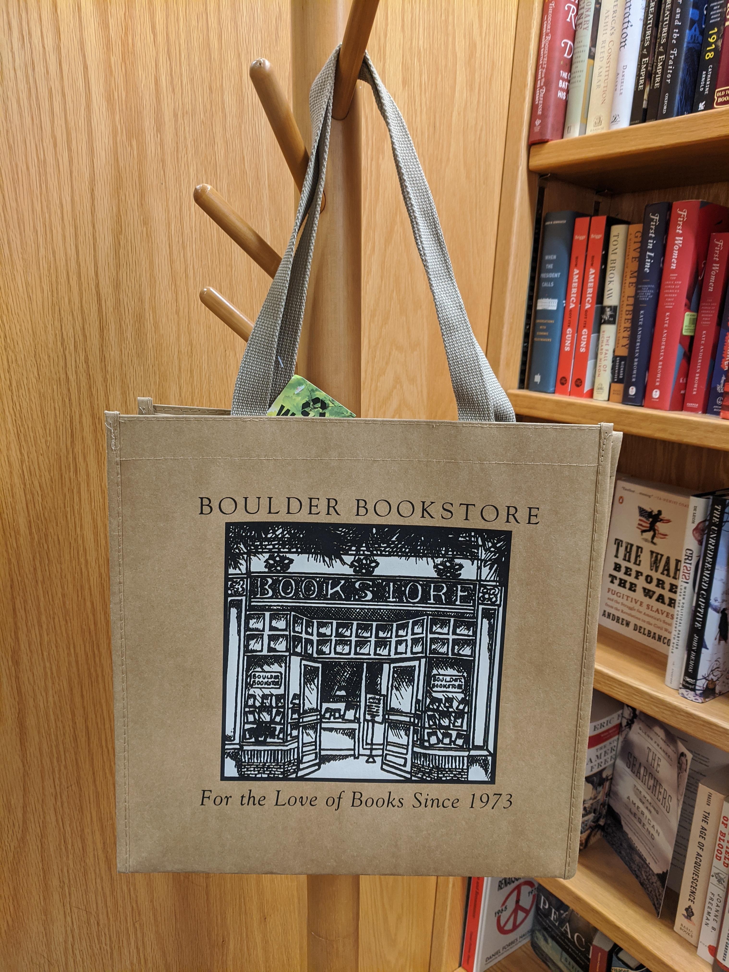 Boulder Book Store Kraft Bag Storefront