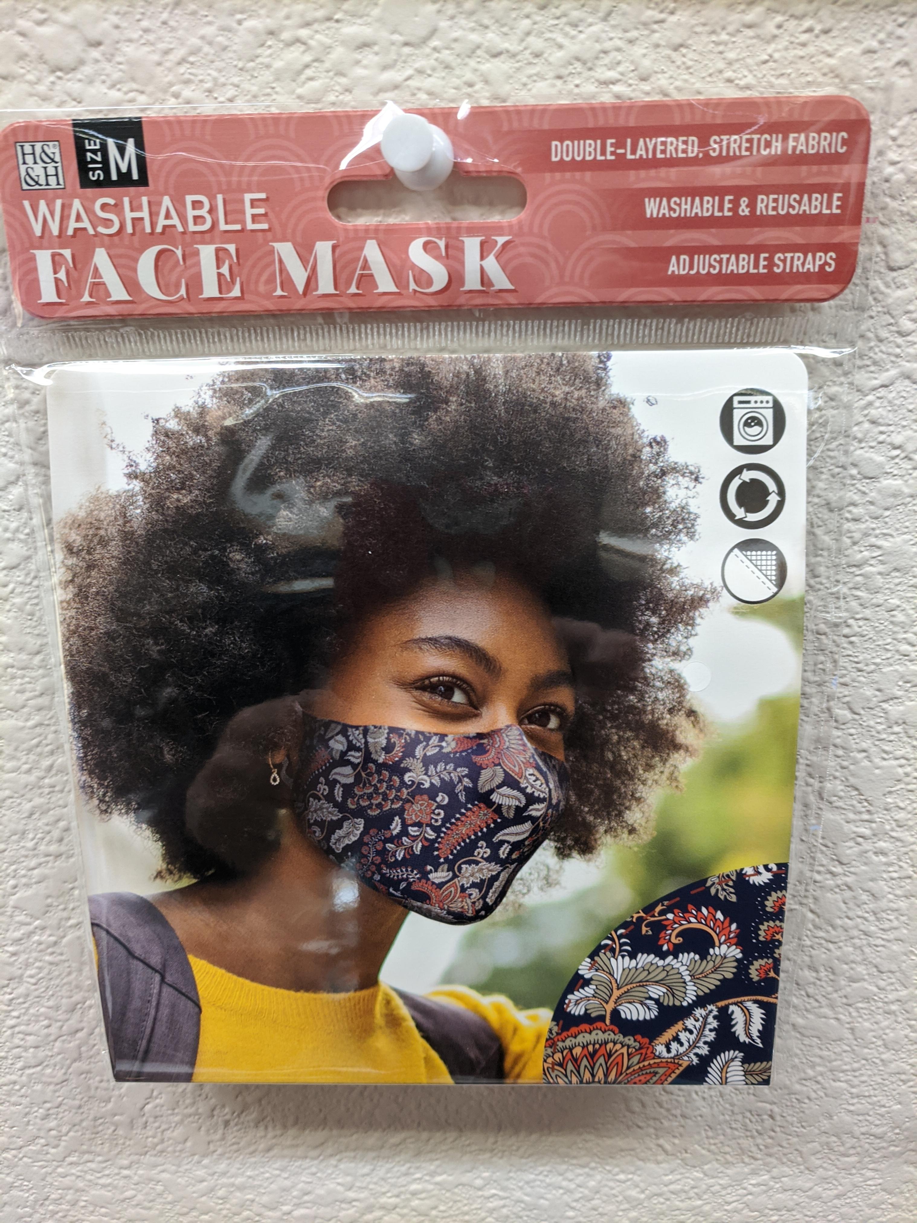 Washable Face Mask Paisley