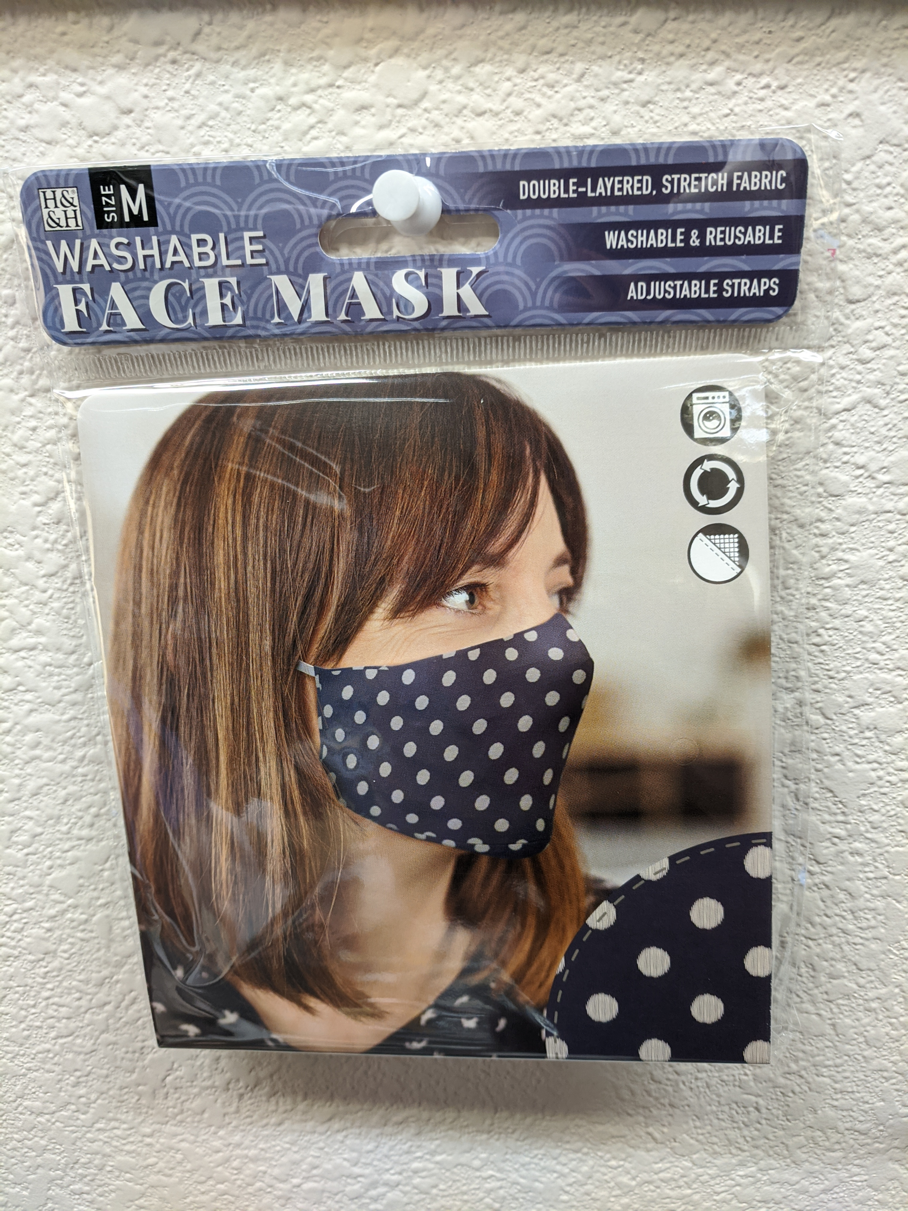 Washable Face Mask Dotted