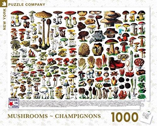 Mushrooms Jigsaw Puzzle 1,000 pieces