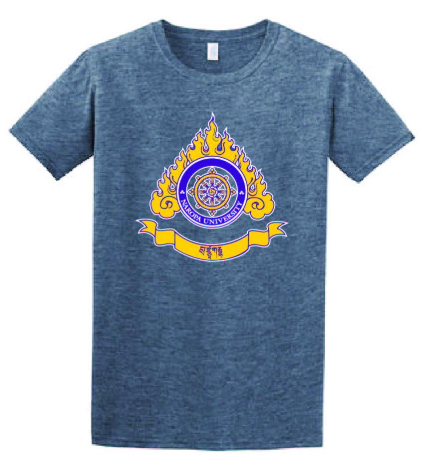 Colored Logo Men's T-Shirt Indigo