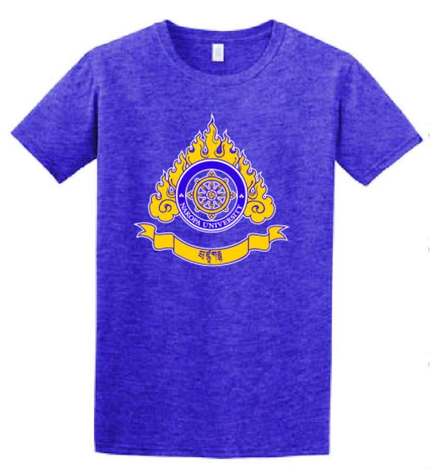 Colored Logo Men's T-Shirt Purple