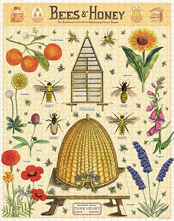 Bees & Honey Vintage Puzzle  image 2
