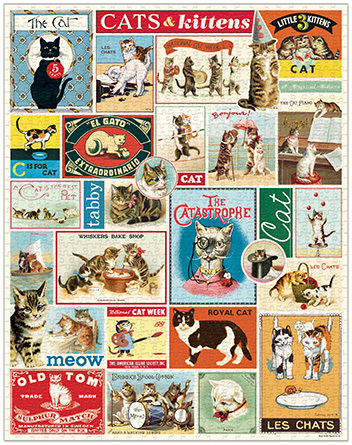 Cats & Kittens Vintage Puzzle  image 2