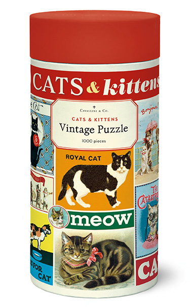 Cats & Kittens Vintage Puzzle  image