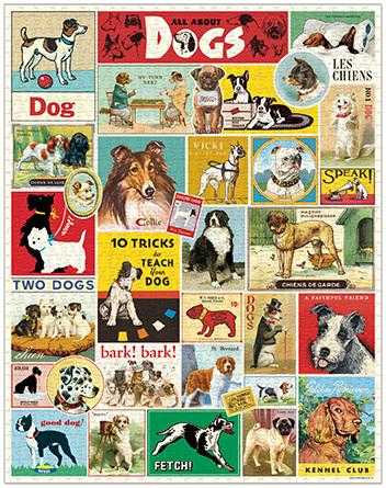 Dogs Vintage Puzzle image2