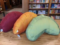 Crescent Kapok Silk Cushion - by Blue Lotus Yoga Essentials