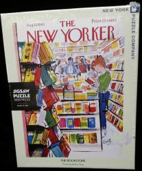 New Yorker Bookstore Cover 1000 pcs Jigsaw Puzzle