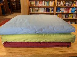 Silk Zabuton - by Blue Lotus Yoga Essentials