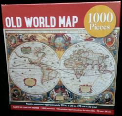Old World Map 1000pcs Jigsaw Puzzle